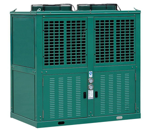 Box Type V Shape R404A/R22 Air Cooled Condensing Unit Used for Cold Room