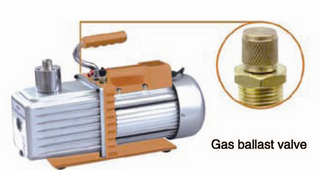 G series double stage vacuum pump