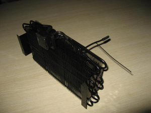 Black Colour Refrigeration Parts of Semiconductor Condenser Coil