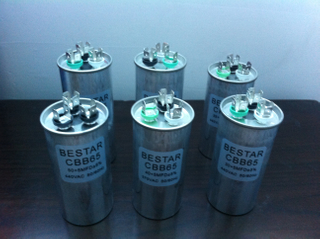 Commercial Run Capacitor For Refrigerating Cabinets
