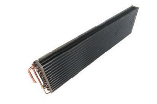 Copper tube type aluminium finned Evaporator coil For air curtain Cabinet