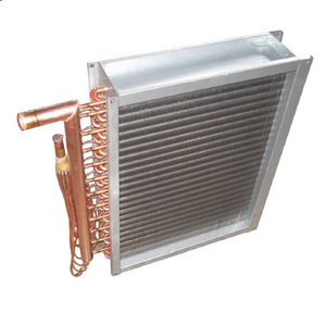 aluminium vs commercial heat exchanger For fridge