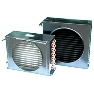 High Quality Copper Radiator Heat Exchanger For Low Temperature Cold Room
