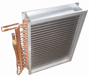 Commercial copper pipe heat exchanger For Refrigerating Cabinets