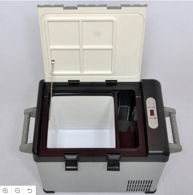 12V/24V MINI CAR PROTABLE FREEZER REFRIGERATOR