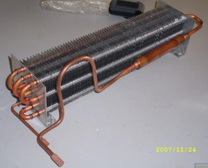 Evaporator with Long Copper
