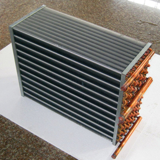 Commercial aluminium vs Copper Heat Exchanger coil For Cold Storage