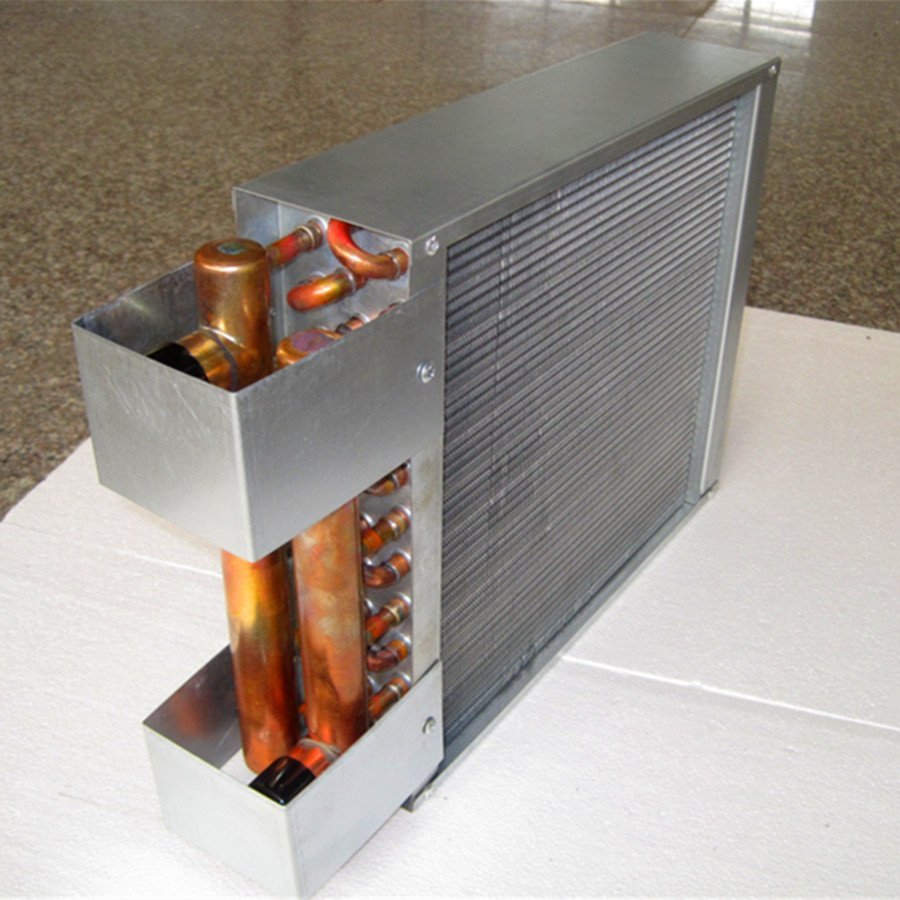 New type 18*20 Outdoor Wood Stove hot water to air Heat Exchanger coil